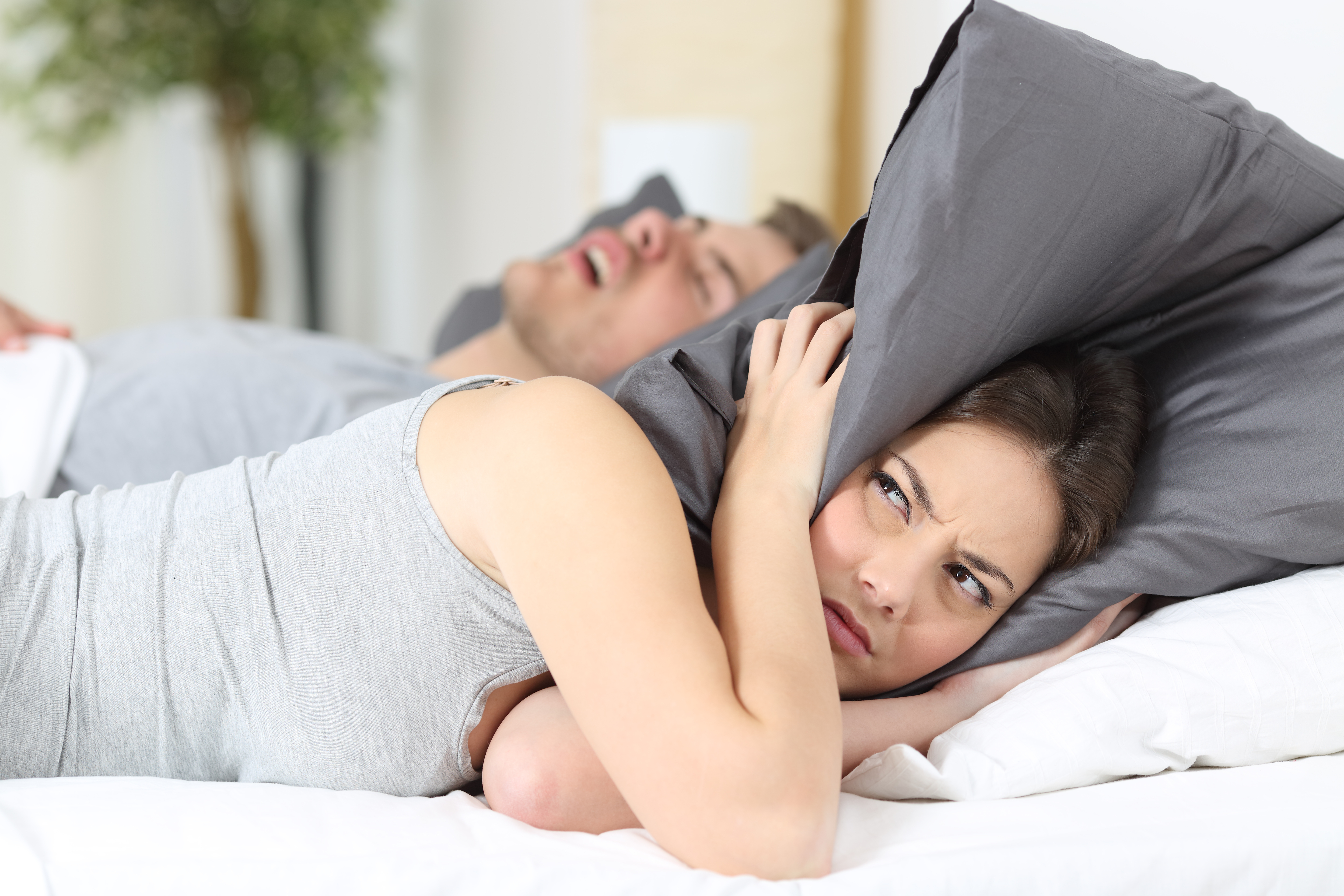 Tired of your partner snoring?